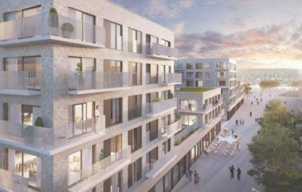 Bouwen van 124 appartementen – 11 commerciële ruimtes – Brughuis Vilvoorde