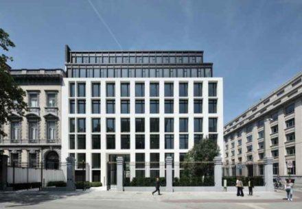Bankkantoor Brussel